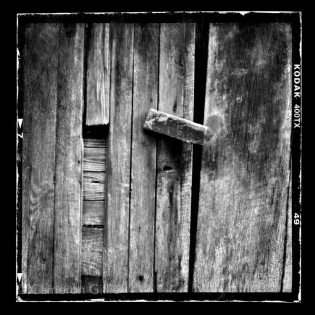 Pinhole photograph of an old barn in Kentucky.