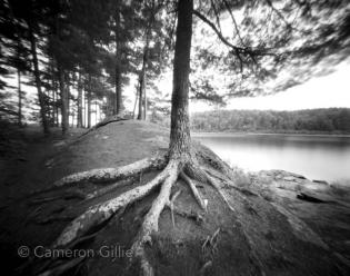 Pinhole photograph from Quetico Provincial Park in Ontario Canada.